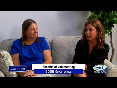 Talk of the Town   SCORE Volunteer Interview   WHHI-TV