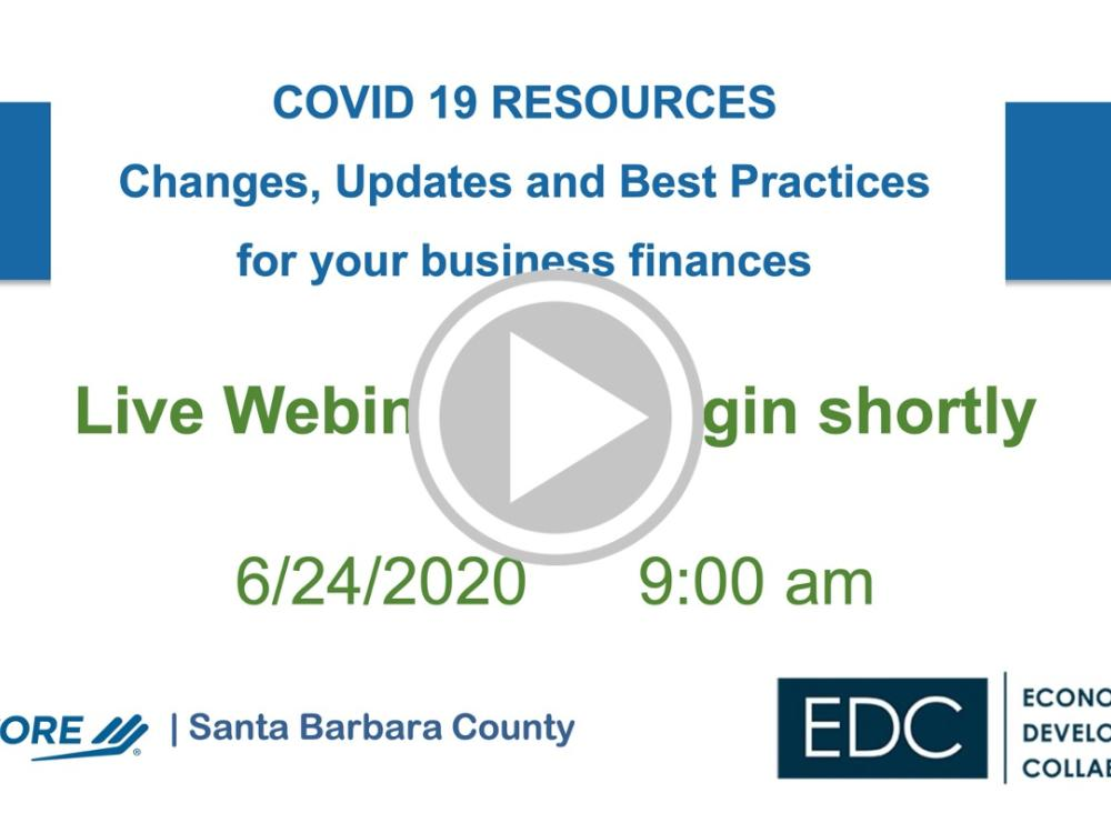 COVID 19: Changes, Updates and Best Practices for managing your business finances and accounting