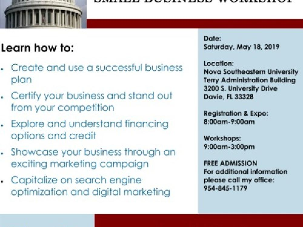 Know The SCORE - Annual Small Business Workshop