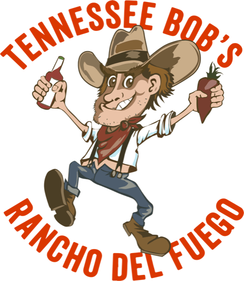 Tennessee Bob's Rancho Del Fuego Hot Sauces logo