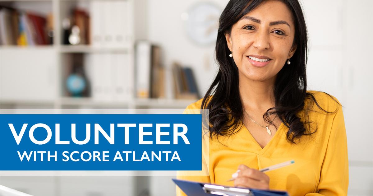 Volunteer with SCORE Atlanta