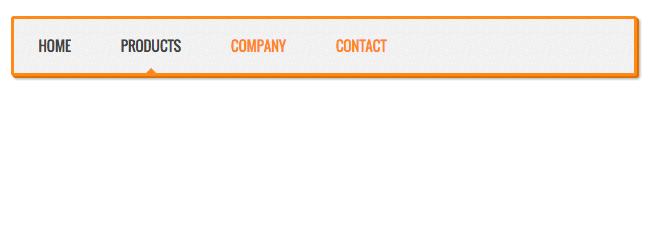 Responsive HTML Menu Bar