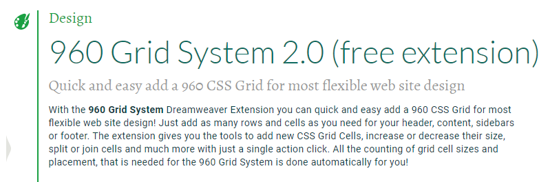 960 Grid System 2.0