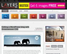 Editing a WordPress blog with Dreamweaver CS5