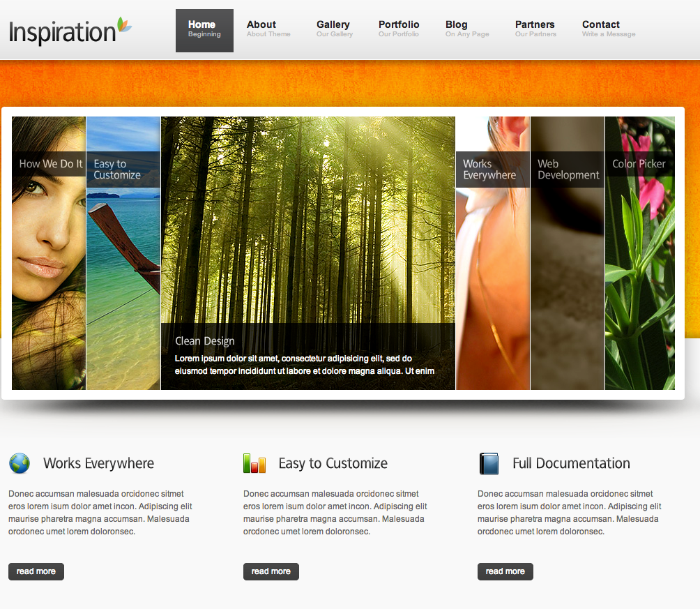 Business website templates 6 inspiration flashek
