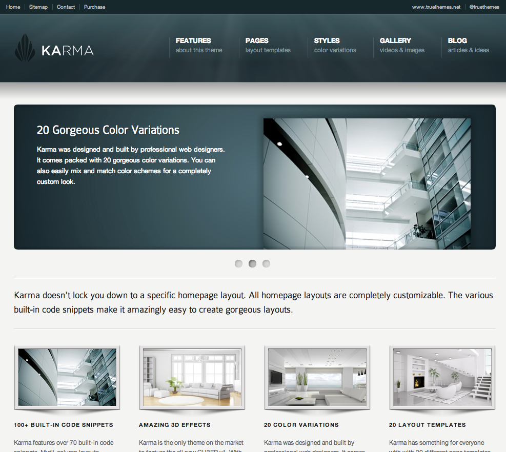 Business website templates flashek