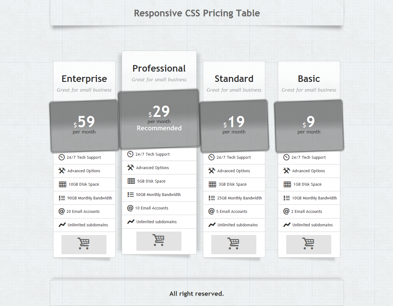 Responsive table generator css for Table design codepen