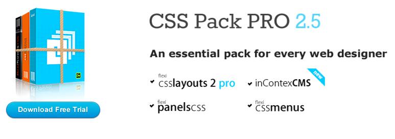Dreamweaver CSS Pack
