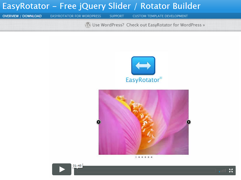 Easy Rotator™ Slider Builder