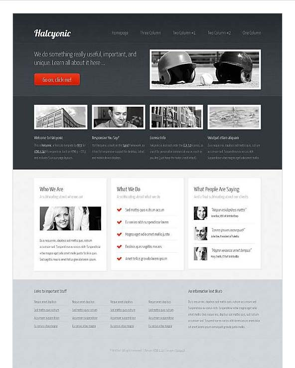 Dreamweaver templates free choice image template design for Dreamweaver newsletter templates