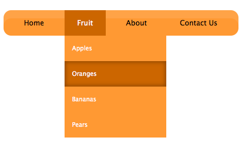 Css3 Drop Down Menu Tutorial