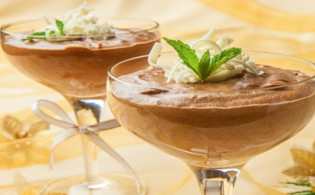 Mousse de chocolate belga