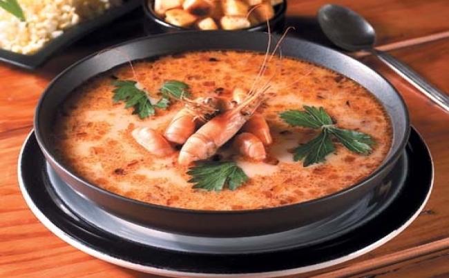 Sopa Fácil De Camarones Recetas Menu Perú