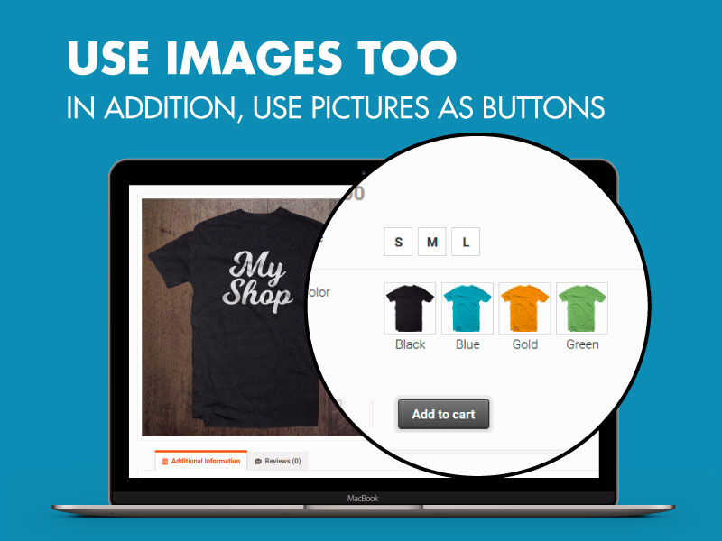 WooCommerce Button and Image Variations 5