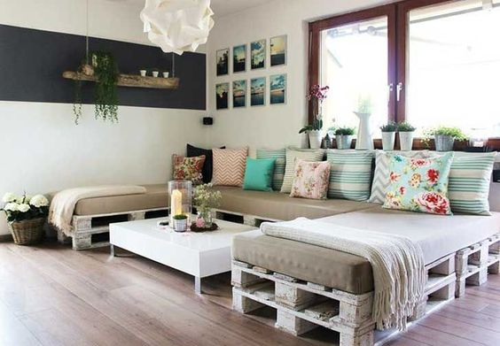 Decoracin con palets dale un toque cool a tu hogar IDEAS Mercado