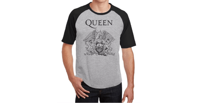 Camisetas de bandas Queen