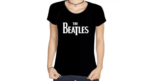 Camisetas de bandas Beatles