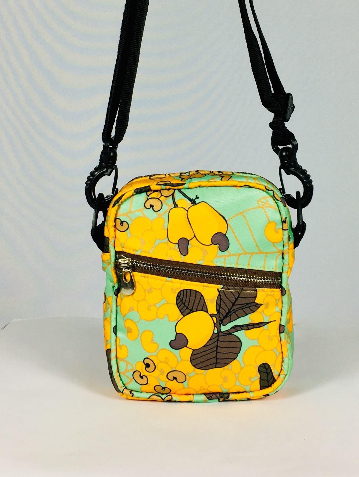 Bolsa Shoulder Bag Caju Brasileiro