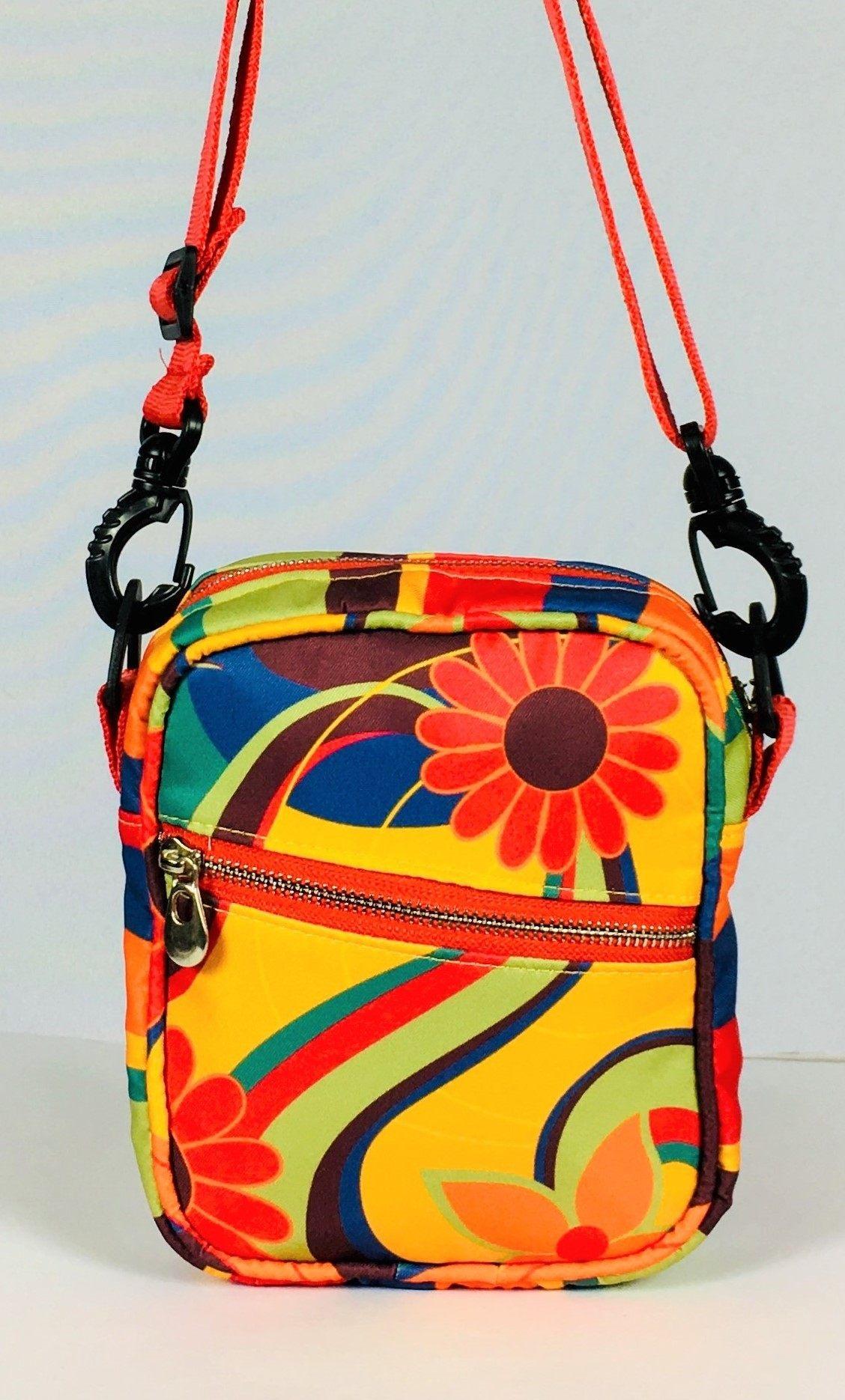Bolsa Shoulder Bag Flora Brasileira