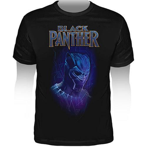 Camiseta Pantera Negra - Preta