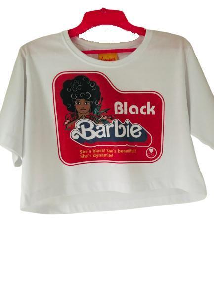 Cropped Black Barbie