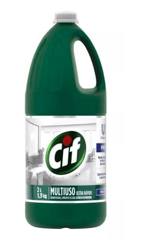 LIMPADOR CIF MULTIUSO ULTRA RAPIDO 2L