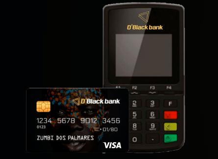PRETINHA - Máquina POS do D'Black Bank