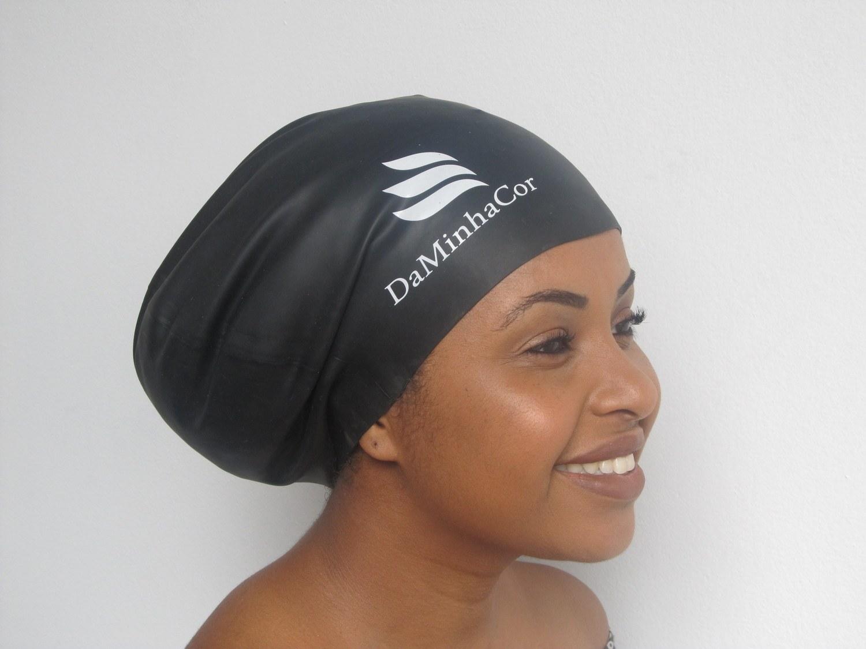Touca de Natação para cabelos afro volumosos ADULTO. Tamanho G