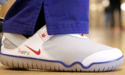 Nike dona 32 mil pares de tenis a médicos y enfermeras