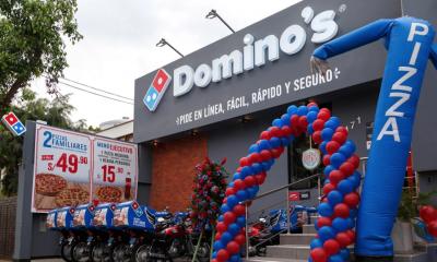 Domino's Pizza vuelve a operar