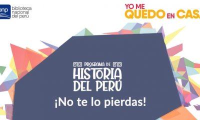 Biblioteca Nacional del Perú realiza programa sobre la historia del país