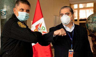BCP entrega implementos de bioseguridad a la PNP