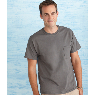 Ultra Cotton Adult T-Shirt with Pocket