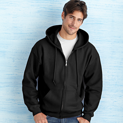 Ultra Blend Adult Full Zip Hooded Sweatshirt