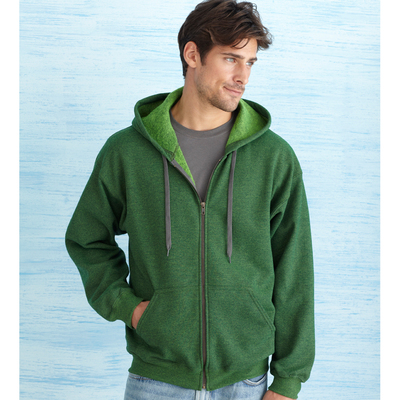 Heavy Blend Vintage Classic Full Zip Sweatshirt