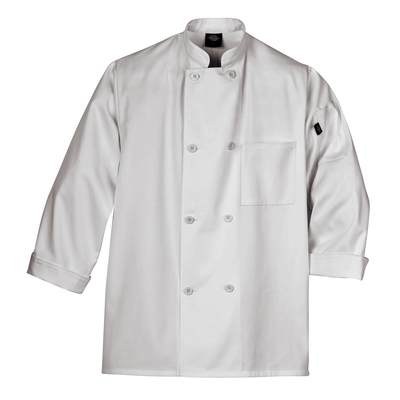 LONG SLEEVE 8-BUTTON CHEF COAT