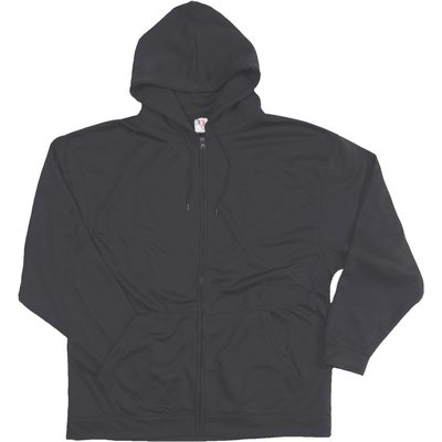 Adult Poly Zip Hood