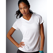 New Balance 7118L NDurance Ladies Athletic V-Neck T-Shirt