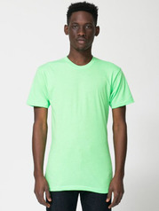 American Apparel BB401 Adult Poly Cotton Tee