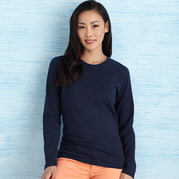 Gildan 5400L Heavy Cotton Missy Fit Long Sleeve T-Shirt