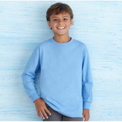Gildan 5400B Heavy Cotton Youth Long Sleeve T-Shirt