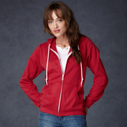 Anvil 71600FL Women's Full-Zip Hooded Fleece
