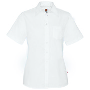 Dickies Occupational FS136 Women's Short Sleeve Stretch Poplin Shirt