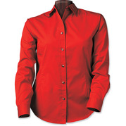 Sierra Pacific 5283 Ladies Long Sleeve Twill Shirt