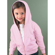 Rabbit Skins 3346 Toddler Hood Fleece Zip