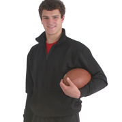 91800 Adult- Dri Poly Fleece 14 Zip Mock Neck