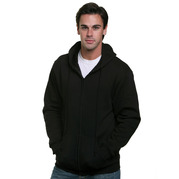 Bayside Bayside 900 Hooded Fleece Full Zip Sweatshirt