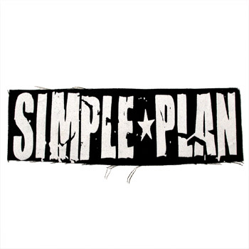 Simple Plan - Scratched Logo Patch - Accessories