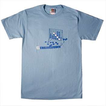 Engine Down - Four Square - T-shirts