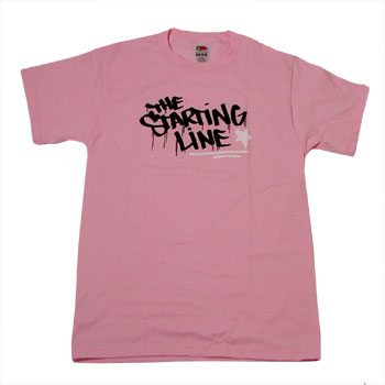 The Starting Line - Pink Graffiti - T-shirts